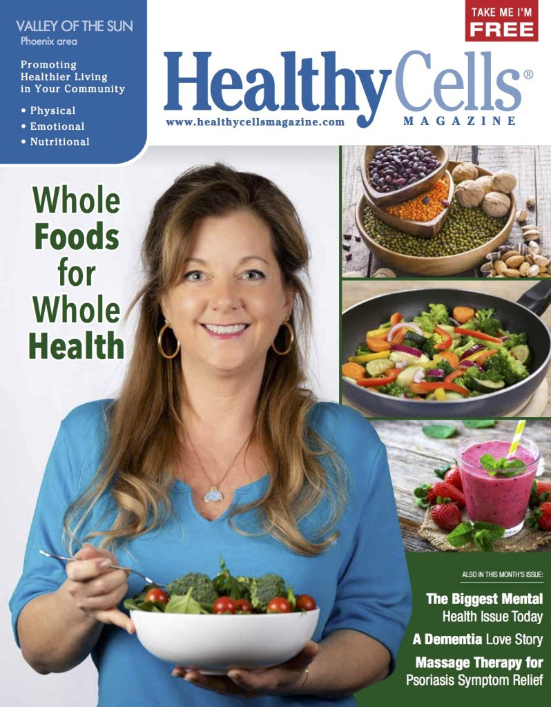 Noelle Kostraba Plant-Based Nutrition Coach Cover Health Cells Magazine